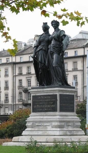 Памятник в честь присоединения Женевы к Конфедерации