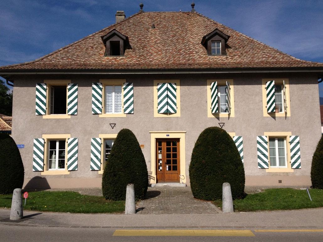 Дом, в котором жила мать мадам де Сталь