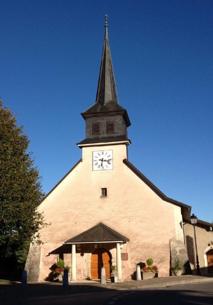 Церковь в Крассье, ее пастором был отец Сюзанны Кюршо