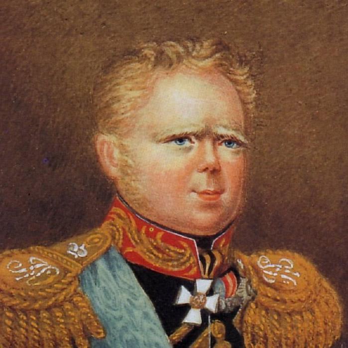 Совжен. Портрет великого князя Константина Павловича. 1822 г.