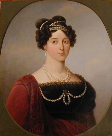 Неизвестный художник. Портрет Великой княгини Анны Федоровны