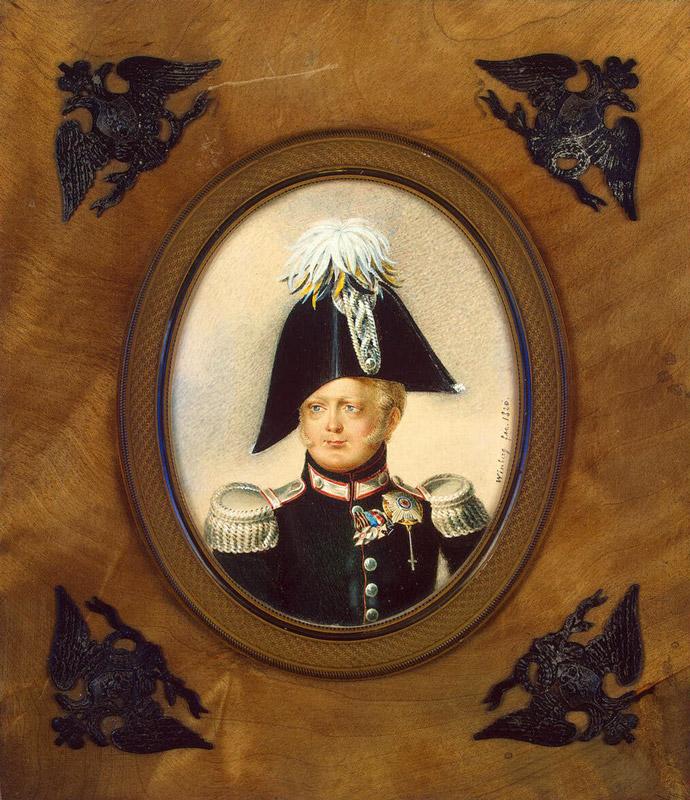 Иван Винберг. Портрет великого князя Константина Павловича. 1820 г.