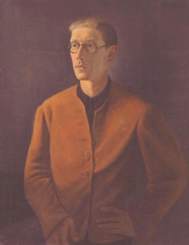 Автопортрет. 1934 г. (Фонд Федора Стравинского)