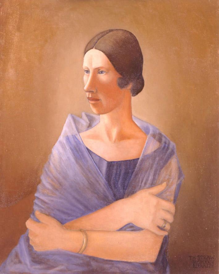 Портрет Екатерины Стравинской. 1924 г. (Фонд Федора Стравинского)