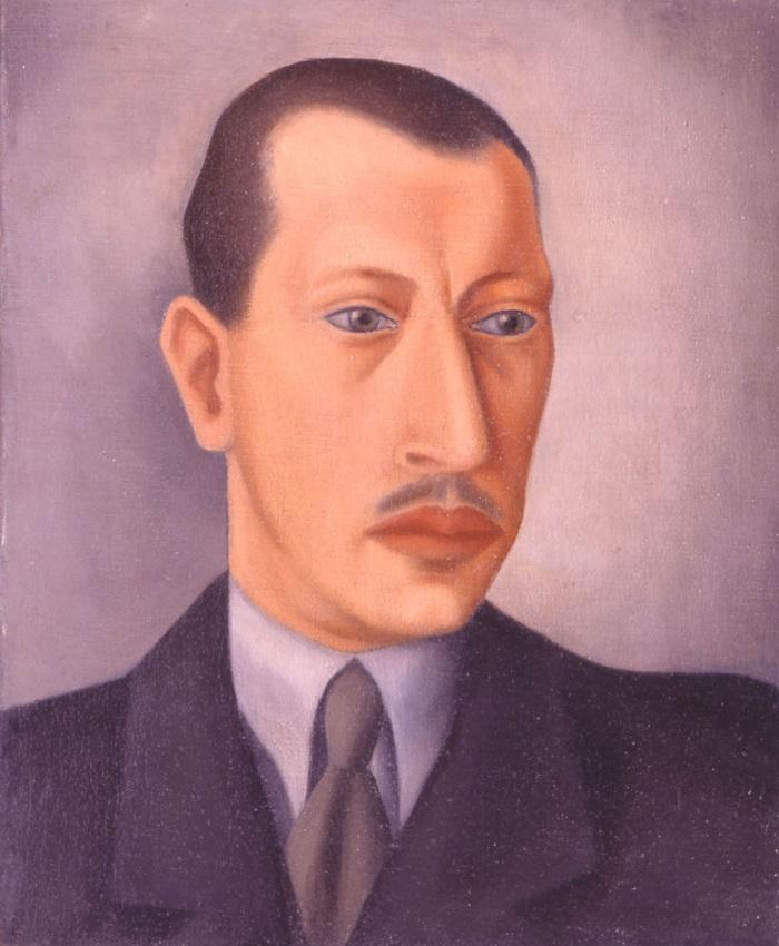 Портрет Игоря Стравинского. 1925 г. (Фонд Федора Стравинского)