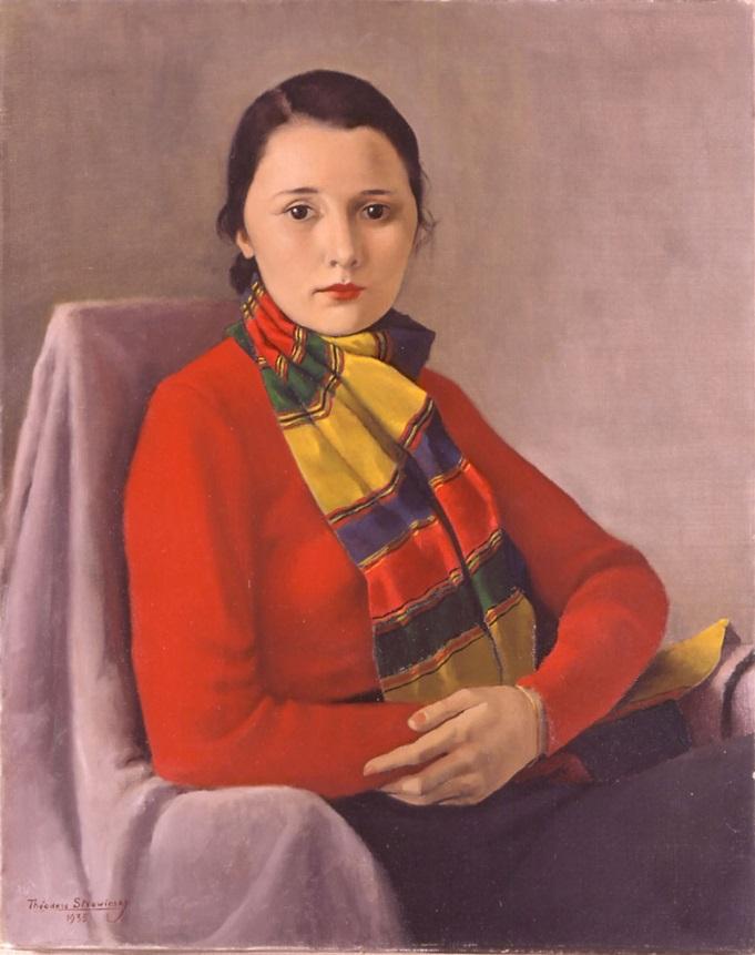 Дениз Стравинская.1935 г. (Фонд Федора Стравинского)