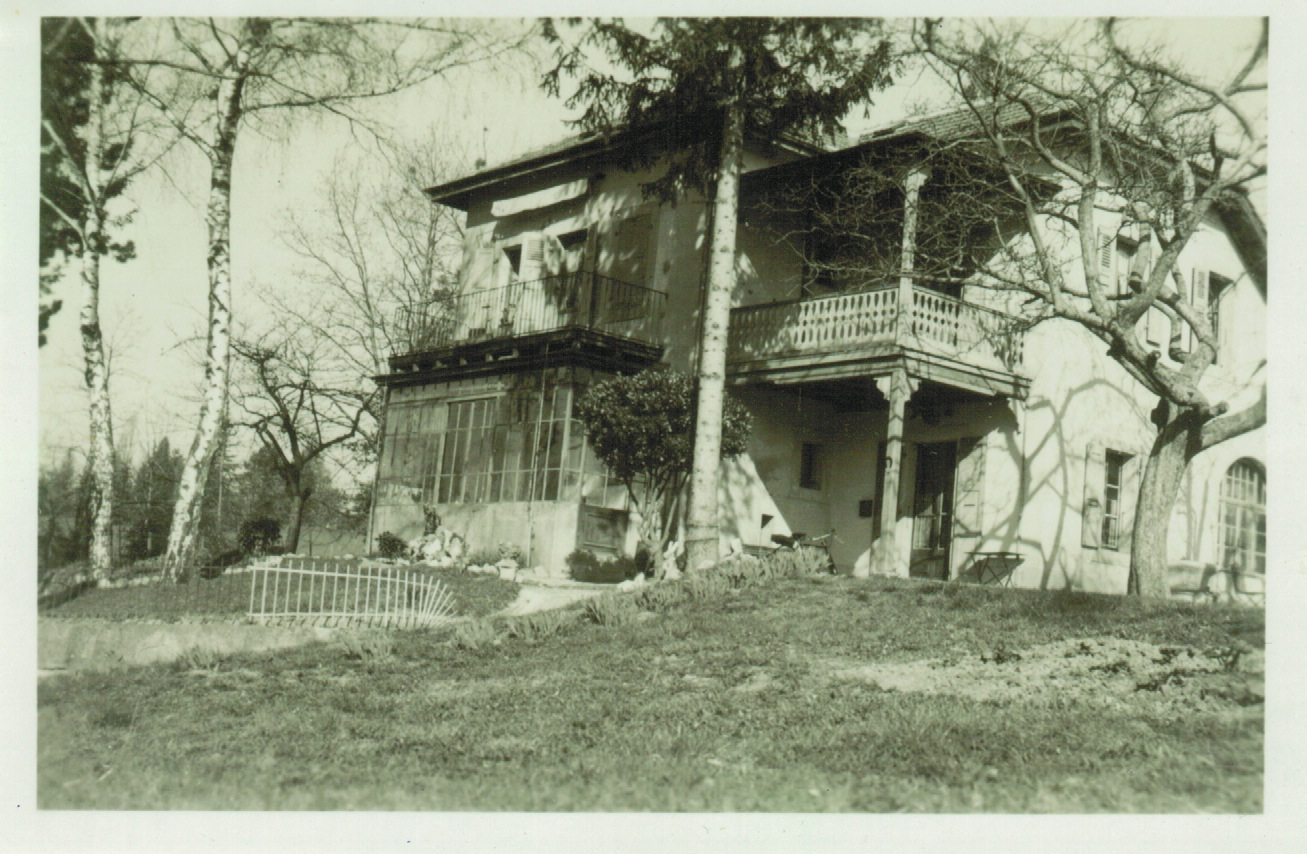 Villa russe entre 1932 et 1946 collection privée